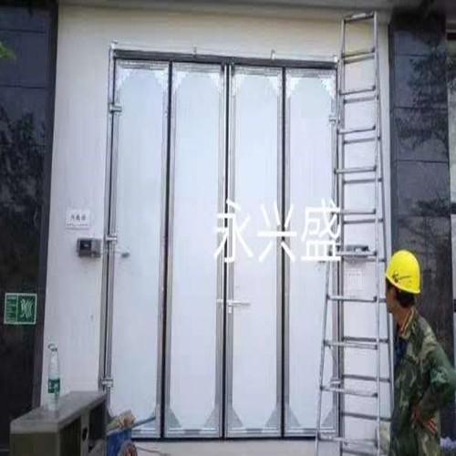 广州花都电厂工业折叠门